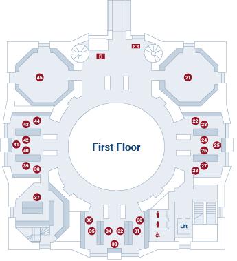 Law Library of Victoria first floor floor plan