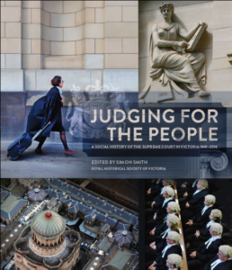 Image of Judging for the People cover