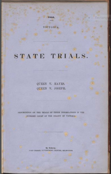 State Trials title page