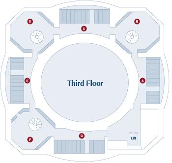 Law Library of Victoria third floor floor plan