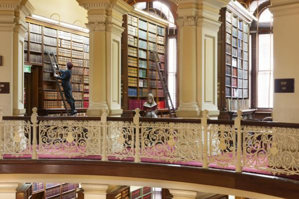 Image of library