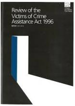 Review of the Victims of Crime Assistance Act 1996