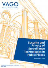 Security and privacy of surveillance technologies in public places
