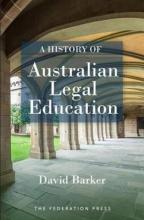 Image of A history of Australian legal education