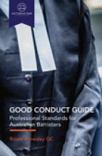 Good conduct guide: professional standards for Australian barristers