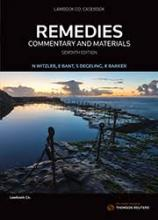 Remedies: commentary and materials