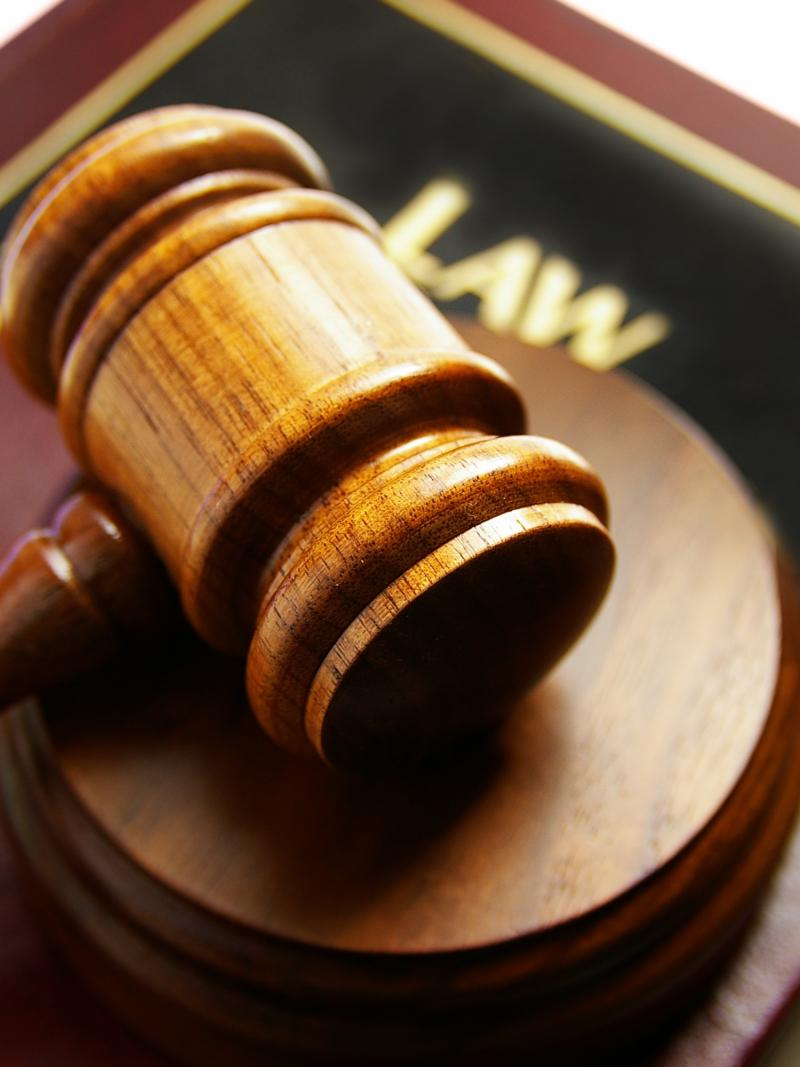 Image of gavel and book