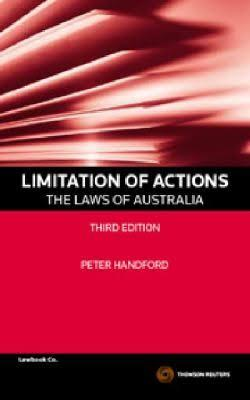 Limitation of actions : the laws of Australia cover