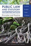 Public law and statutory interpretation : principles and practice