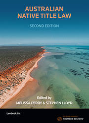 Image of Australian native title law