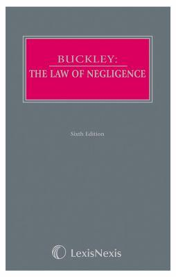 Buckley   the law of negligence and nuisance cover