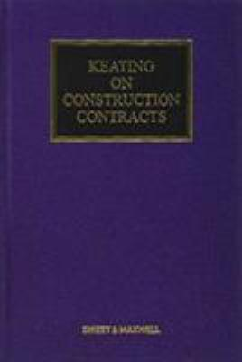 Keating on construction contracts book