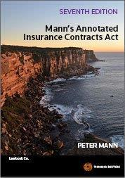 Mann's annotated Insurance Contracts Act cover