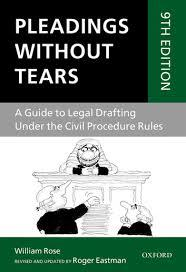 Image of Pleadings without tears