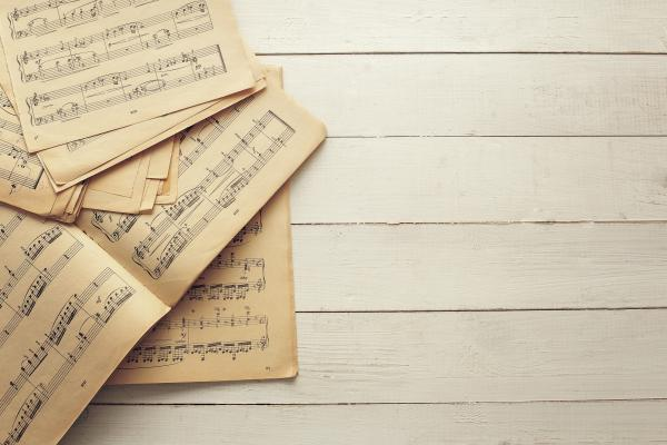 Image of sheet music