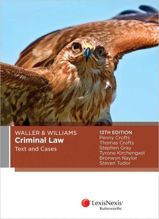 Waller & Williams criminal law cover