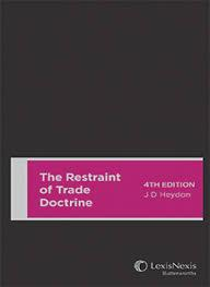 The restraint of trade doctrine
