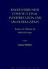 Encounters with constitutional interpretation and legal education